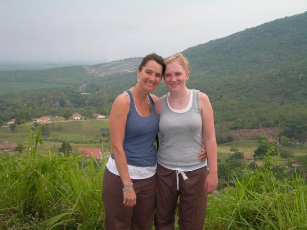 Jill in Honduras